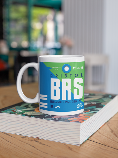 Coffee Mug - BRS - Bristol Airport - Bristol, United Kingdom