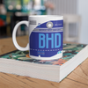 BHD - Belfast George Best Airport Ceramic Mug 11OZ