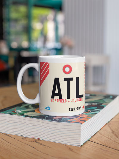 Coffee Mug - ATL - Atlanta Airport - Atlanta, Georgia