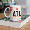 ATL - Atlanta Airport Ceramic Mug 11oz