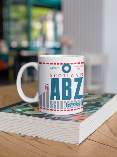 Coffee Mug - ABZ - Aberdeen Airport - Aberdeen, United Kingdom