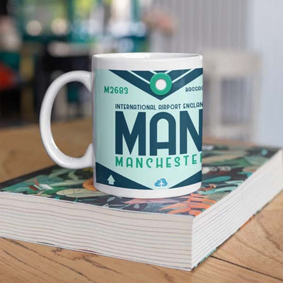 MAN - Manchester Airport Ceramic Mug 11oz