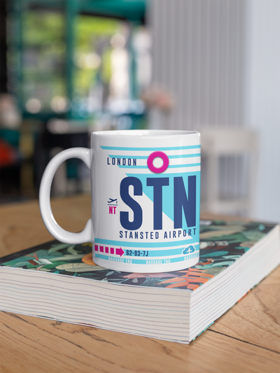 Coffee Mug - STN - London Stansted Airport - London, United Kingdom