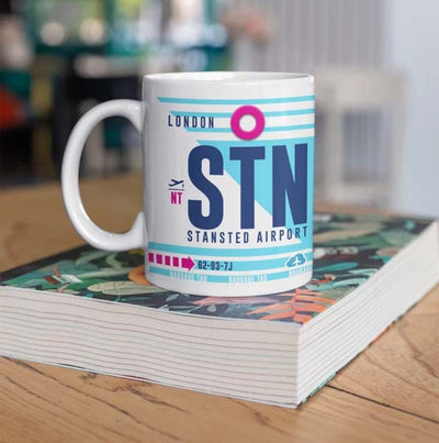 STN - London Stansted Airport Ceramic Mug 11OZ