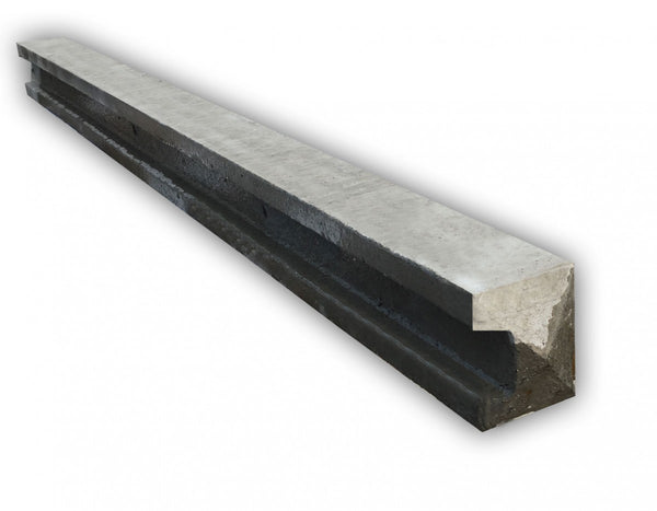 Fenn Lite Concrete End Post - Slotted