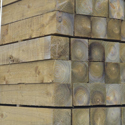 "75mm (3"") x 125mm Square Fence Posts"
