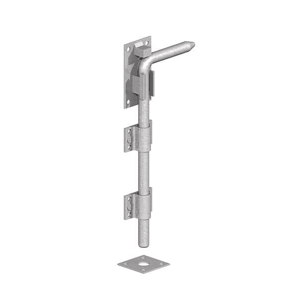 Gatemate Galvanised Garage Door Bolt