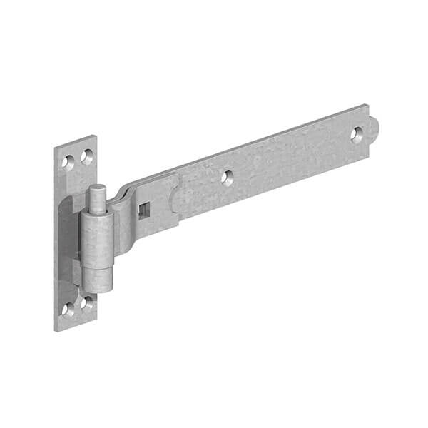 Gatemate Galvanised Cranked Hooks & Bands
