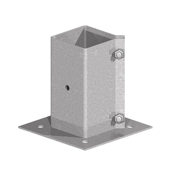 Kwik/Fencemate Surface Mount 75mm