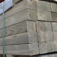 "100mm (4"") Rounded Corner Square Fence Posts"