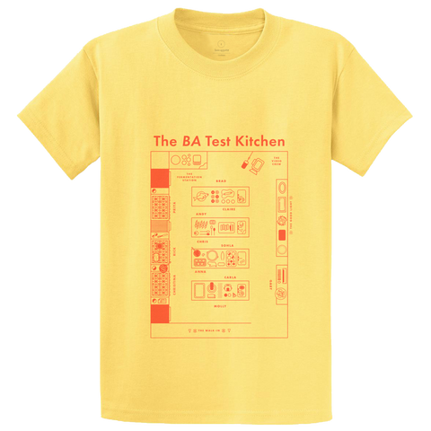 The Test Kitchen Shirt in Soft Scramble