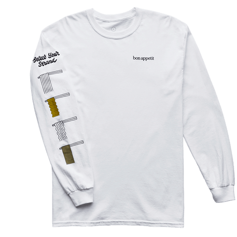 The Know-Your-Noodle Long-Sleeve- front
