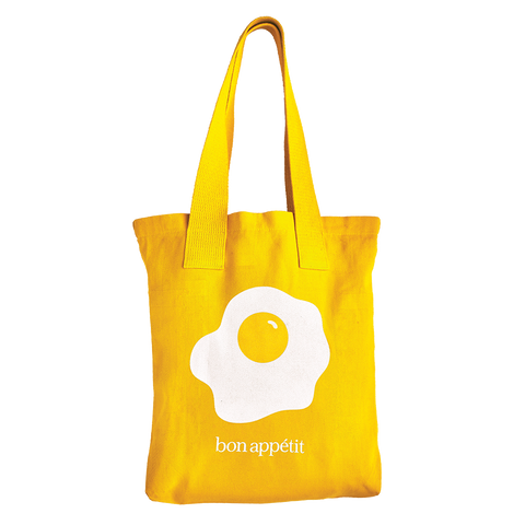 We Put An Egg On This Tote