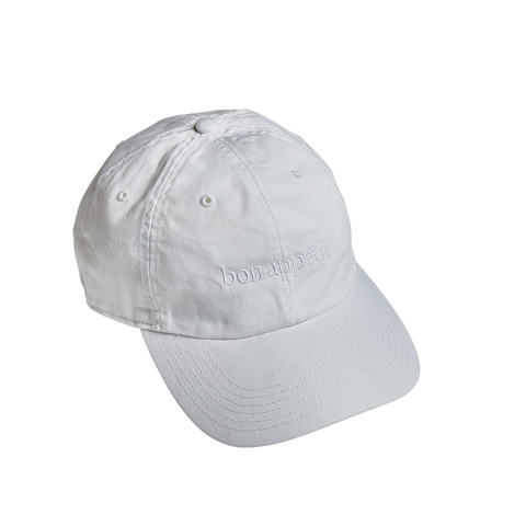 Extremely Subtle Fan Hat-white