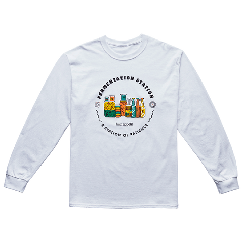Brad's Fermentation Station Long-Sleeve-front