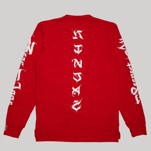 RAFN Long Sleeve - RED