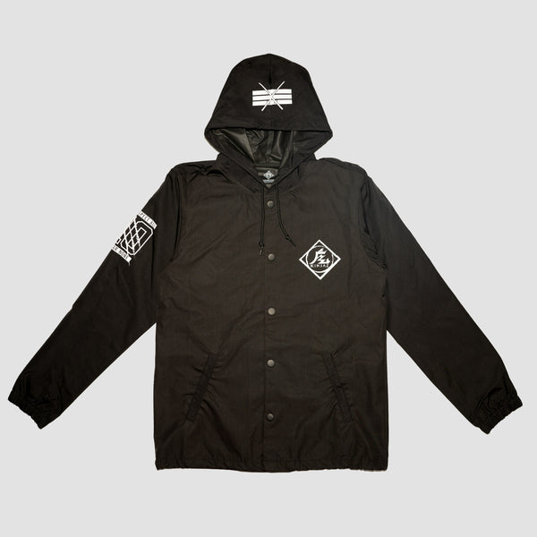 KIN KOACHES JACKET (BLACK)