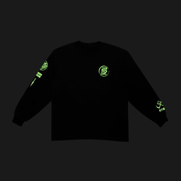 Glow in the Dark KREST L/S Tee