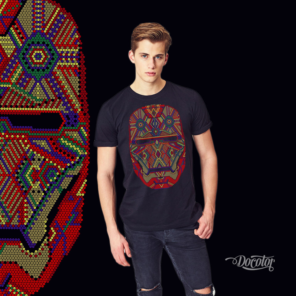 Playera Iron-Huichol