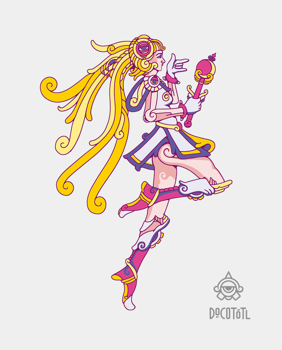 diseño sailor moon mexicana