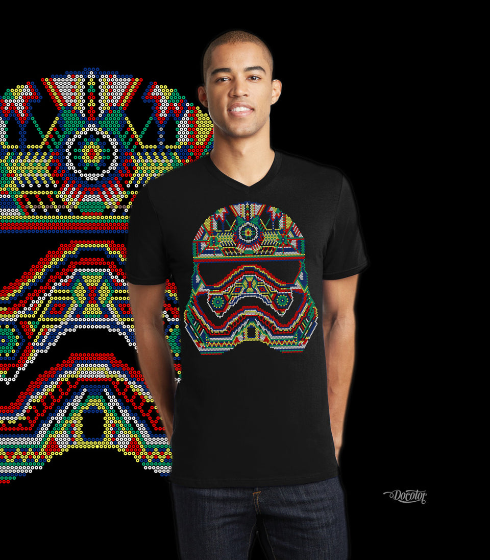 Playera trooper huichol