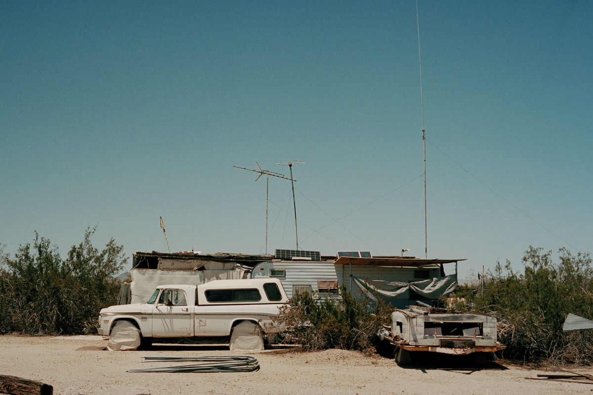 Slab City - Camp