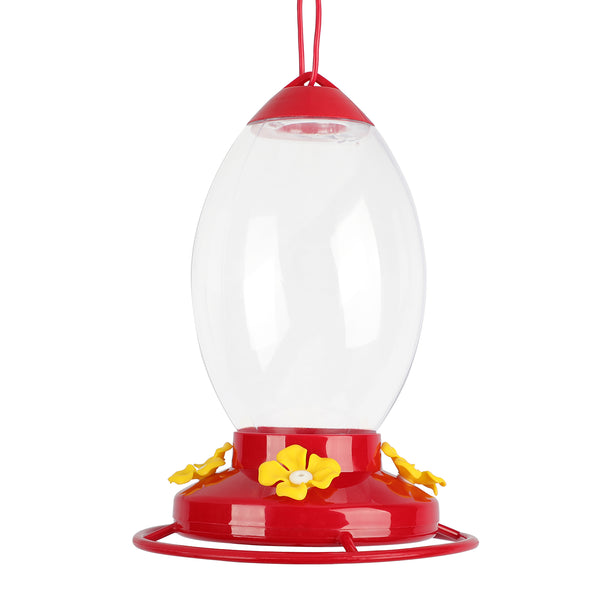 Hummingbirds Feeders for Outdoors with 4 Feeding Stations
