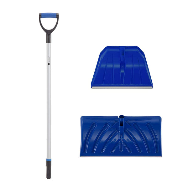 Snow Shovel/Pusher Replaceable Set for Shoveling or Pushing Snow #H560+H481