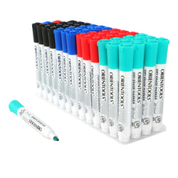 Dry Erase Markers, Bulk Pack of 52 (with Chisel Tip)