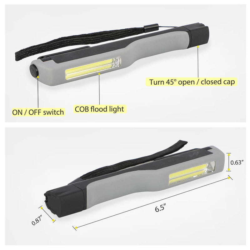 135 Lumens COB LED Pocket Magnetic Work Light