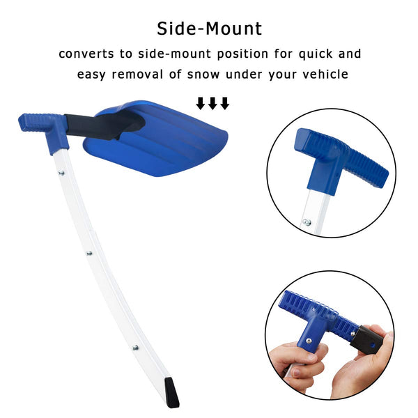 Collapsible Snow Shovel, Suitable for Car or Truck Storage