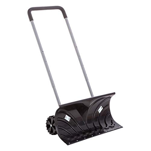 "Rolling Snow Pusher with 6"" Wheels and Adjustable Handle #H660-2 UPC 0192717000982"