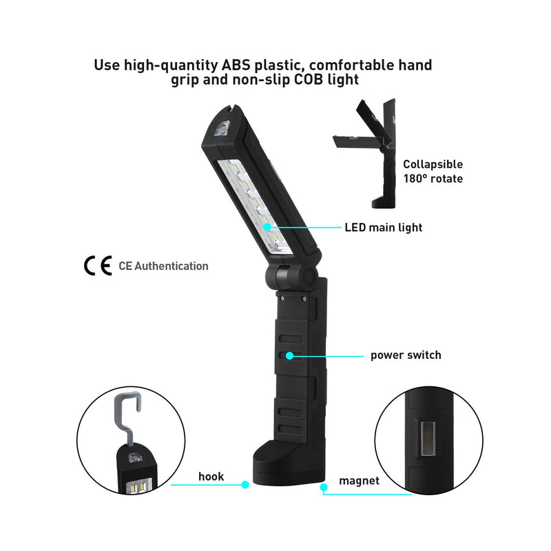 260 Lumens Folding Magnetic LED Work Light