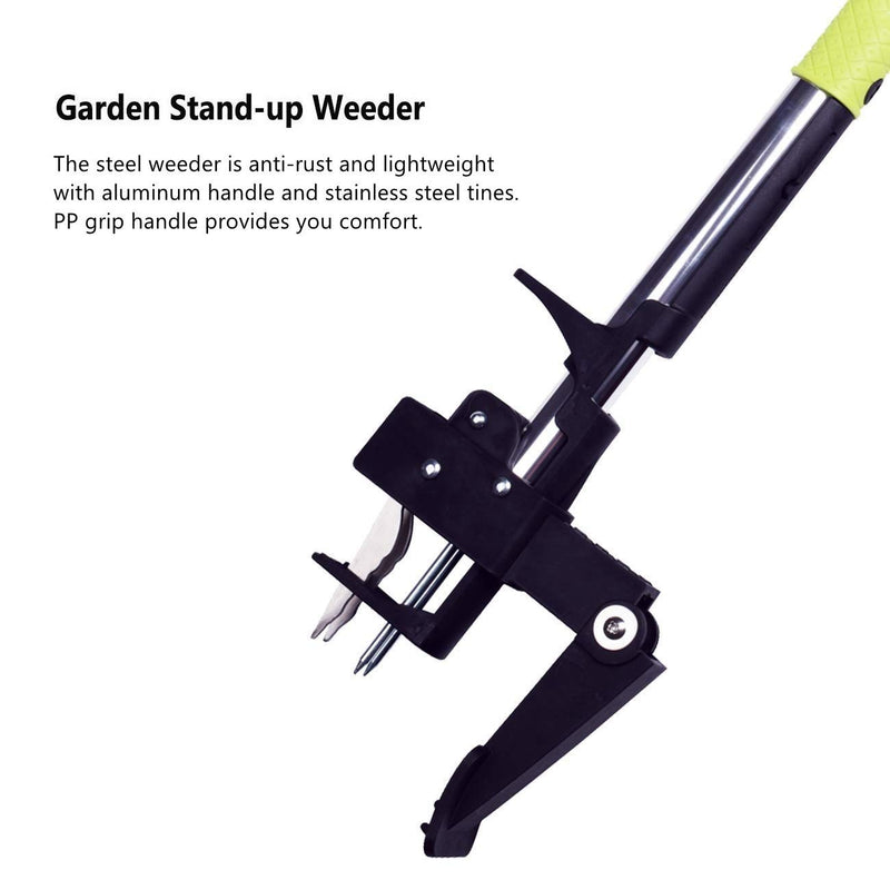 Garden Stand-up Weeder with 4 Claws
