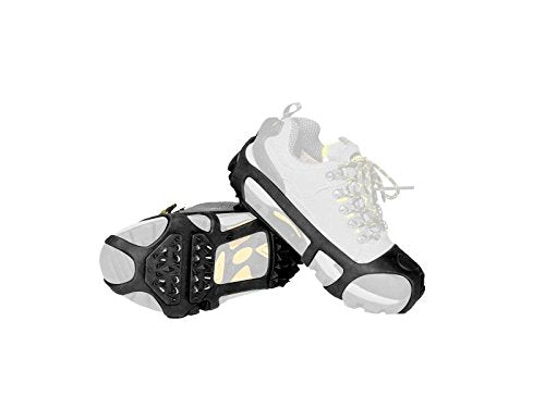 Snow/Ice Cleat/Shoes  (Black, S/M) #HX003-3