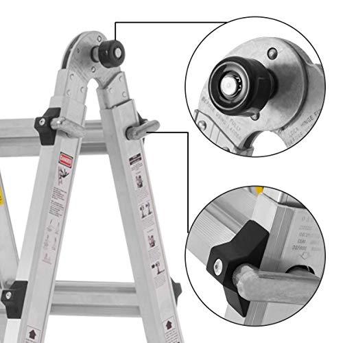 Model 22-Foot Durable and Multi-Purpose  Extension Ladder
