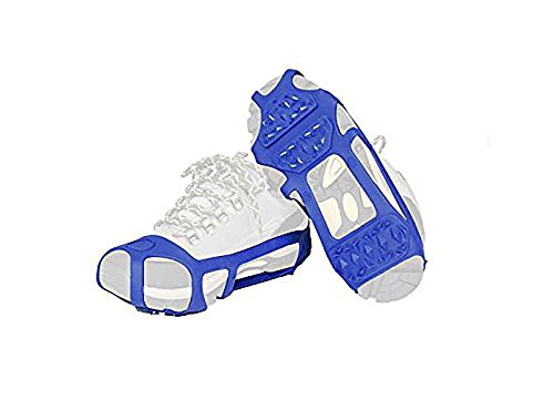 Snow/Ice Cleat/Shoes  (Blue, L/XL) #HX003-2
