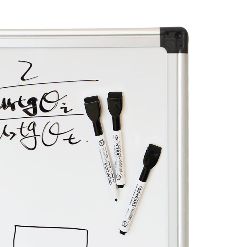 Magnetic Dry Erase Markers with Eraser, Pack of 36 (with Fine Tip)