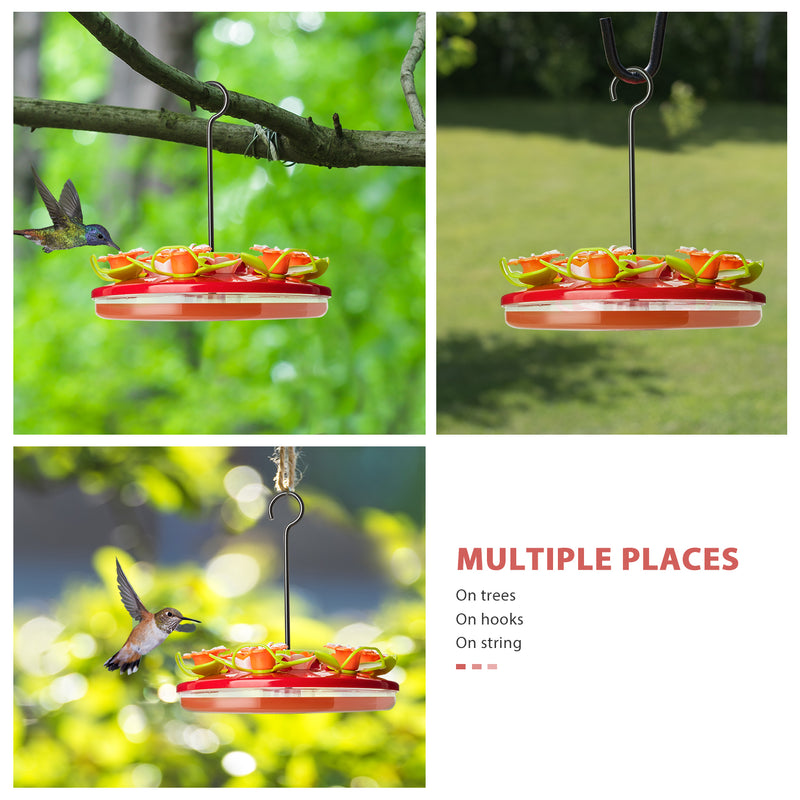 Hanging Flower Hummingbird Feeder 12 Feeding Stations