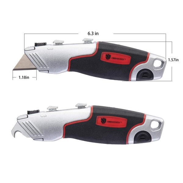 Heavy Duty Multifunctional Retractable Utility Knife(6 Blades)