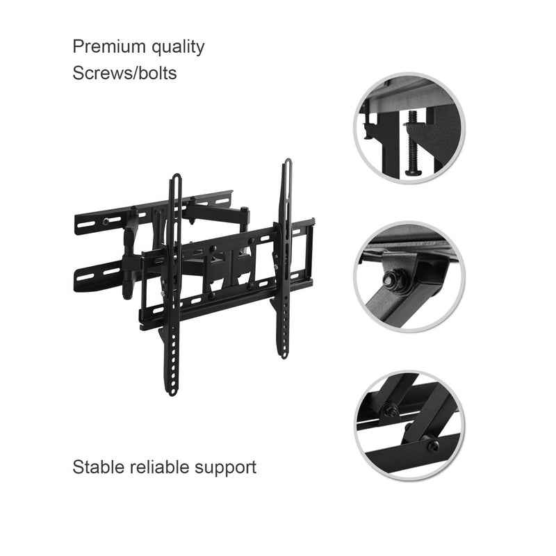 ORIENTOOLS Full Motion TV Wall Mount
