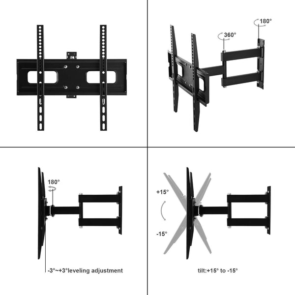 "TV Wall Mount Bracket for Most 23""-56"" TVs"