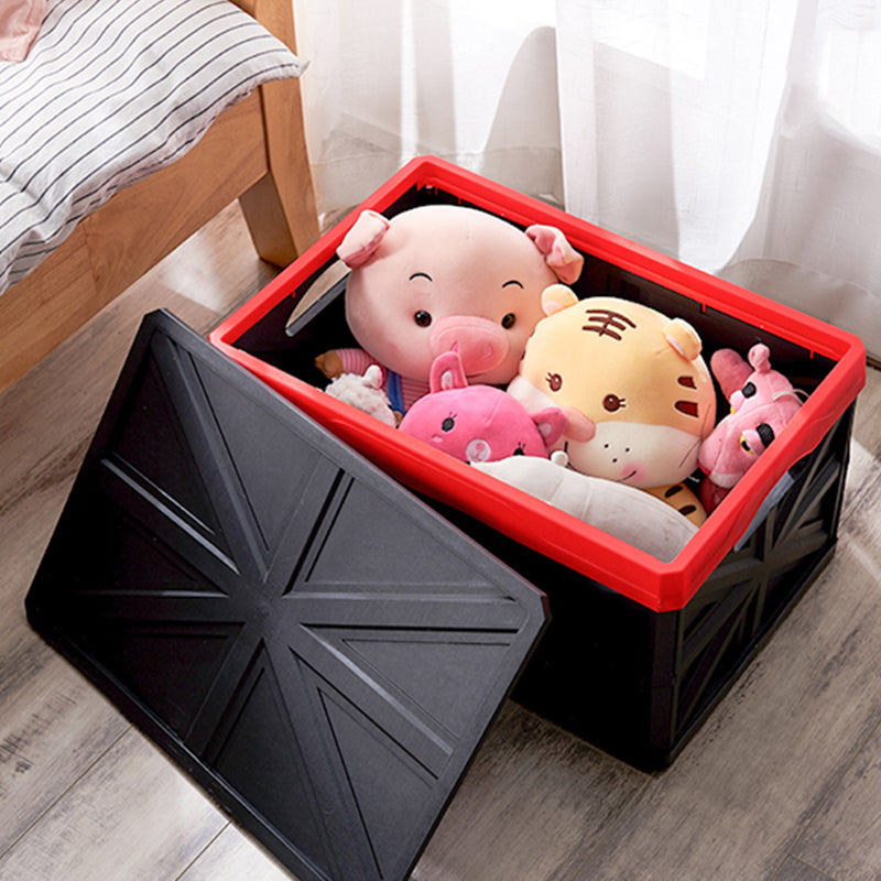 ORIENTOOLS Collapsible Storage Crate, Suitable for Spaces Like Home, Office, Truck, Etc.