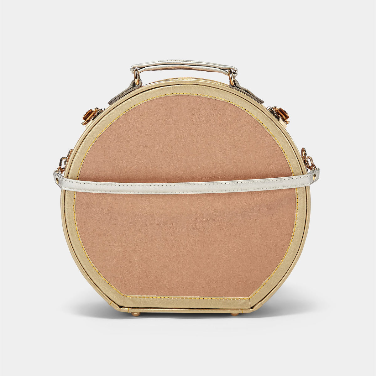 The Alchemist Small Hat Box - Hat Box Hand Luggage - Exterior Back with Straps
