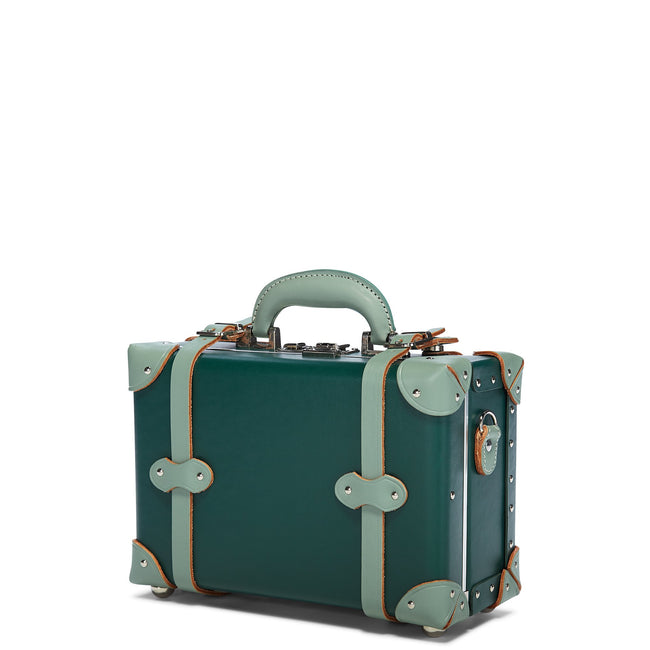 The Artiste Vanity in Green - Old Fashioned Valise - Exterior Front