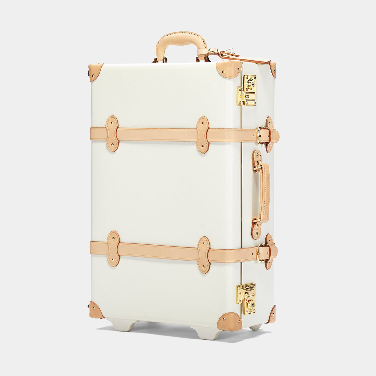 The Sweetheart Stowaway - Vintage-Inspired Luggage - Exterior Front