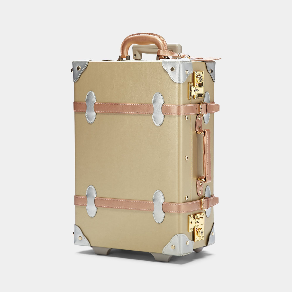 The Alchemist Carryon - Retro-Style Cabin Luggage - Exterior Front