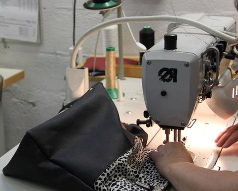 Fabrication des sacs By Ninette