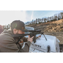 Load image into Gallery viewer, Steelbanger basic at the range shooting from the hood of a jeep