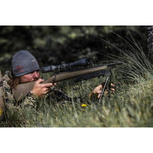 Load image into Gallery viewer, Heath Graham using Swagger Bipod in prone position